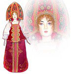 dolls from russian tales